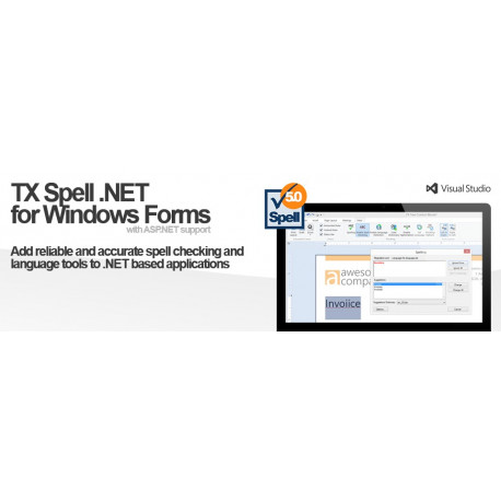 TX Spell .NET for Windows Forms