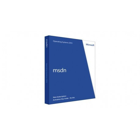 MSDN Operating Systems 2013