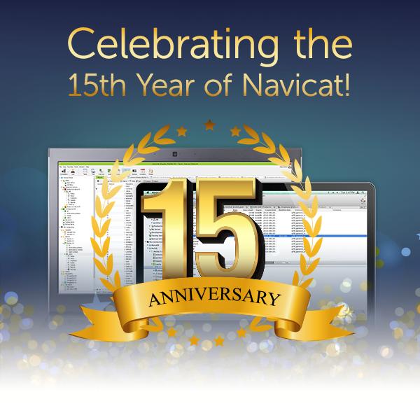 Navicat Anniversary