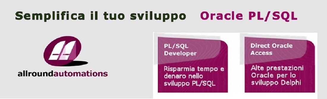 Semplifica il tuo sviluppo ORACLE con PL/SQL DEVELOPER